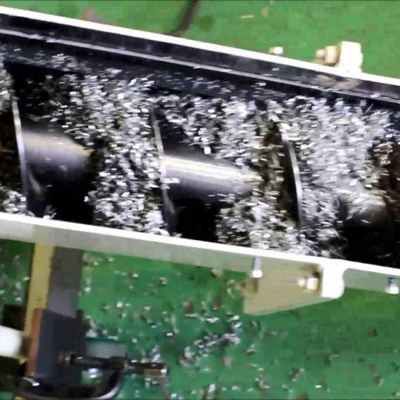 Băng tải phoi cắt gọt
